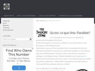 Univ-Parallele : Guide internet gratuit
