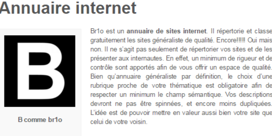 Br1o : Découvrez de nouveaux sites